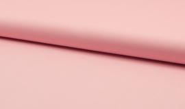 Katoen uni kleur zacht roze  4,95 euro per meter