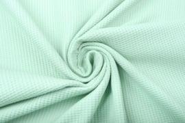 Baby wafel jersey  Art 032   oud groen   5 meter voor