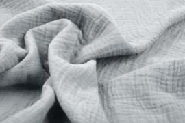 Hydrofiel doek 100% cotton Art 061 kleur lichtgrijs   5 meter voor