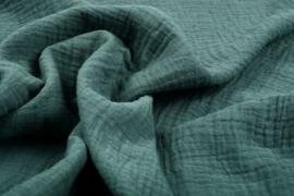 Hydrofiel doek 100% cotton Art 034 kleur  donker oud groen  5 meter voor