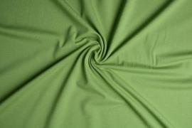 Tricot uni 155 cm breed kleur mos groen € 5,50  p/meter Art 062