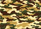 Legerstof ( Army) € 4,95 per meter Art :B007