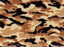 Legerstof ( Army) € 4,95per meter ART B001