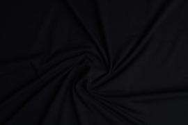 Tricot uni 155 cm breed kleur zwart  € 5,50 p/meter Art -022