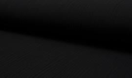 Hydrofiel doek 100% cotton Art 022 kleur  zwart  5 meter voor