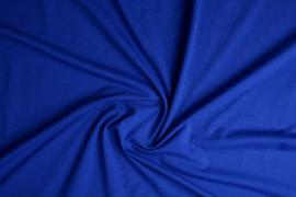 Tricot uni 155 cm breed kleur kobalt  €  5,50 p/meter Art 009