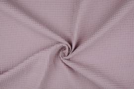Wafelkatoen soepel ART WF50 Oud roze € 5,95 per meter . 5 meter voor