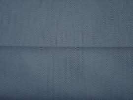 Tule grijs 140 cm breed grootverpakking 40 meter € 1,00 per meter ART T53