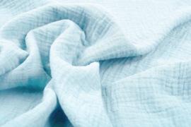 Hydrofiel doek 100% cotton art 012  kleur  baby blauw    5 meter voor