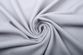 Baby wafel jersey  Art 072   grijs    5 meter voor