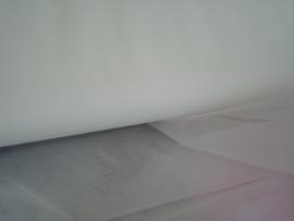 Bruidstule kleur silk withe  300 cm breed € 3,00 per meter Art BR36