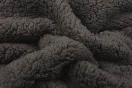 Teddy  kleur   donker taupe   Art 074   5 meter voor