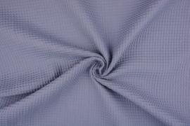 Wafelkatoen soepel Kleur Oud blauw € 5,95 per meter. Art WF1058