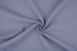 Wafelkatoen soepel Art WF1058 Oud blauw € 5,95 per meter.  5 meter voor