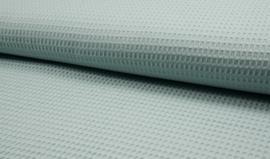 Wafelkatoen 100% katoen kleur Blue mint  Art WF0186-022  1 meter voor
