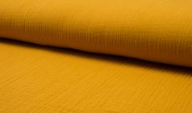 Hydrofiel doek 100% cotton Art 082  kleur  ocre    5 meter voor