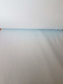 Boordstof babyblauw !   ART UV383  € 1,00  per meter