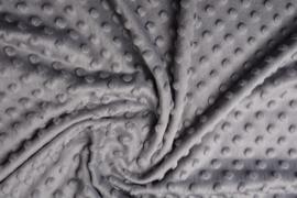 Minky  fleece  Lichtgrijs Art MD061  -  5 meter