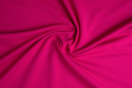French Terry Tricot  Art 040 Fuchsia roze - 5 meter