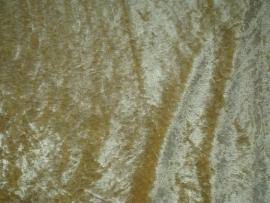 Velours de panne 25 meter € 1,85 per meter Kleur Goudgeel ART VL17