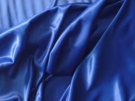 Chameuse stretch voering kleur kobalt 150 cm breed € 2,50 per meter Art STRV 9