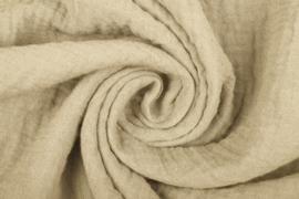 Hydrofiel doek 100% cotton Art 057 kleur  sand     5 meter voor