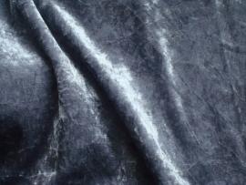 Velours de panne 25 meter € 1,85 per meter Kleur Grijs  ART VL96