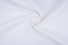 Wafelkatoen soepel ART WF23 wit € 5,95 per meter. € 5,95 per meter. 5 meter voor