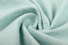 Gewassen katoen  Art:058   kleur oud groen - 5 meter voor