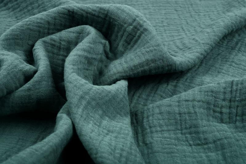 Hydrofiel doek 100% cotton kleur  058 oud  groen     5 meter voor