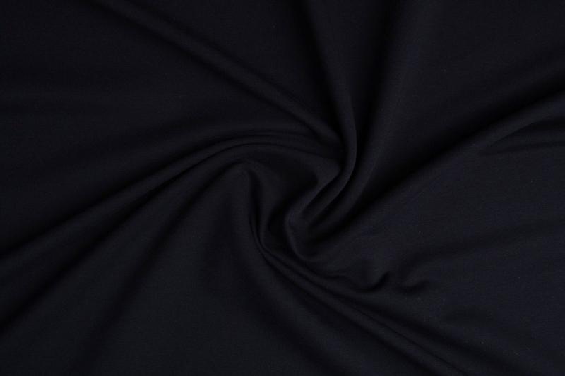 Frence Terry Tricot  Art FRT-069  kleur zwart   € 6,95 per meter.