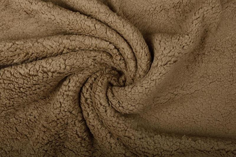Teddy  kleur  mokka    Art 075   -  5 meter voor