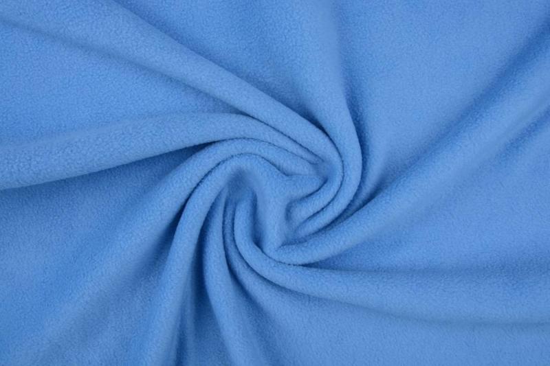 Polar Fleece  . Art FB012  Kleur babyblauw - 5 meter