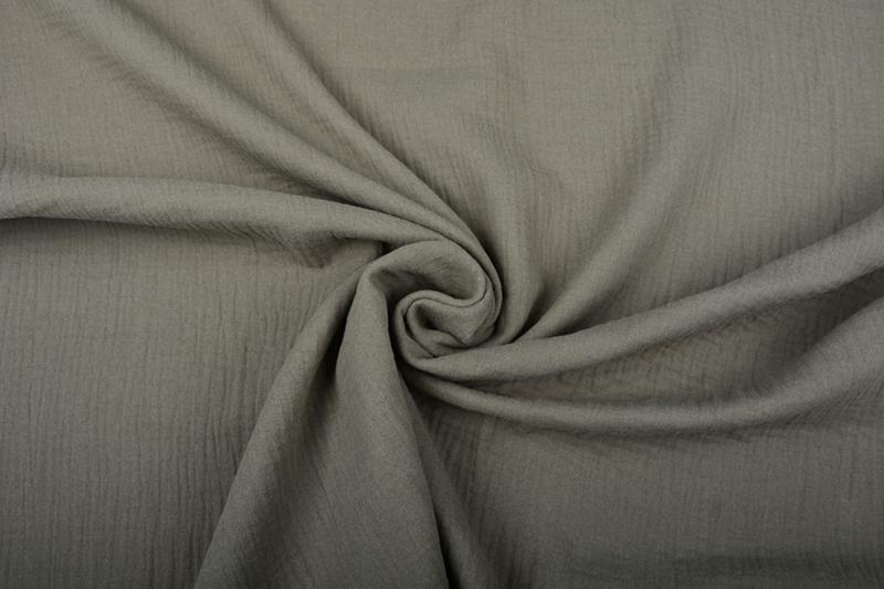 Hydrofiel doek 100% cotton Art 055  kleur  army   5 meter voor