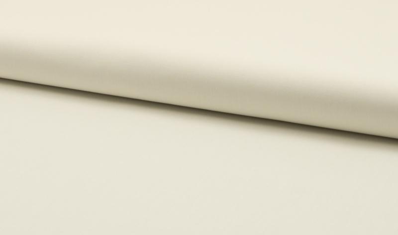 Katoen uni kleur off withe   - 5 meter voor