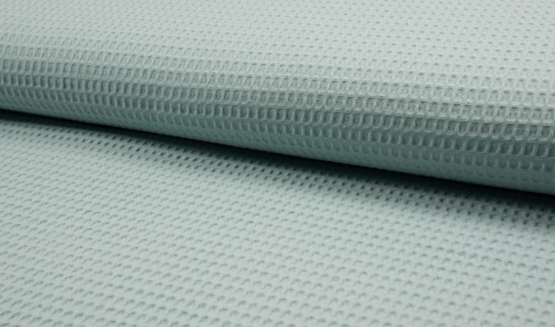 Wafelkatoen 100% katoen kleur Blue mint  Art WF0186-022