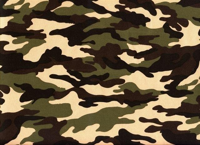 Legerstof ( Army) € 4,95 per meter Art B009 - 5 meter voor