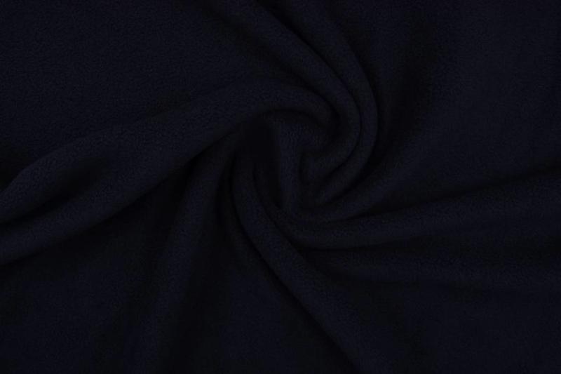 Polar fleece .Art FB999 Kleur zwart - 5 meter