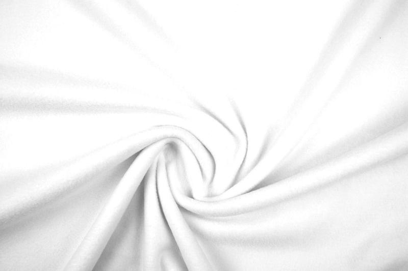 Polar Fleece .  Art 036 Kleur Off Withe - 5 meter