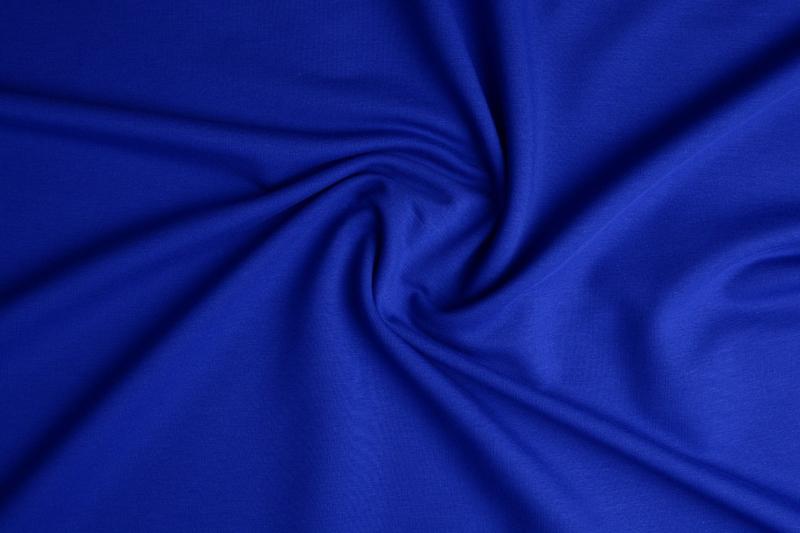 Frence Terry Tricot  Art 009 Koningsblauw € 6,95 per meter