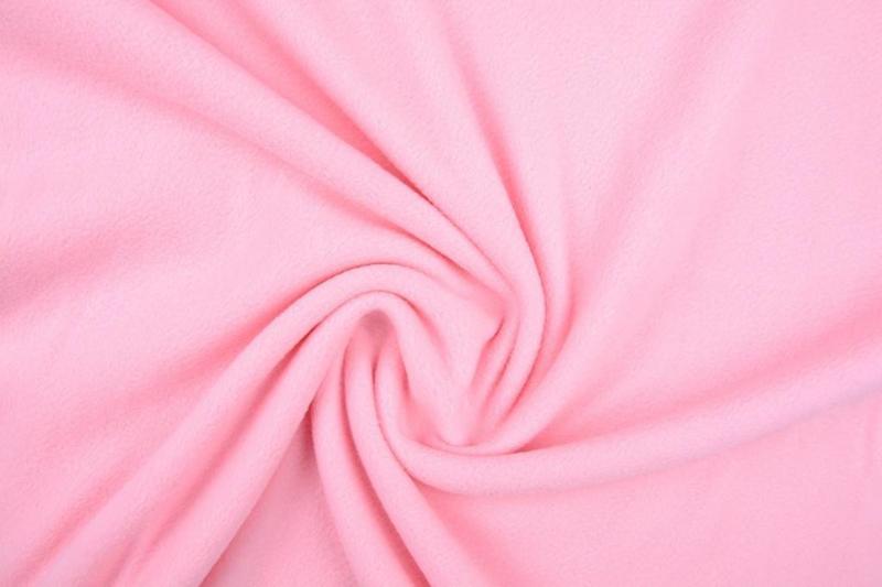 Polar Fleece . Art 0884 Kleur Baby Roze - 5 meter