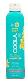 eco - luxe body pina colada spray    spf 30