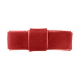 Milledeux velvet - Rood 1