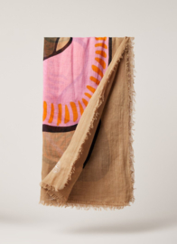 Moselle scarf - Taupe