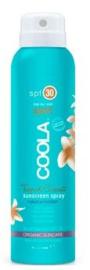 travel body tropical coconut spray spf 30