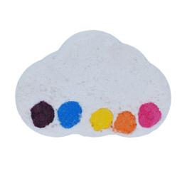 Watercolours bomb - Raining rainbows