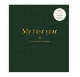Milestone - Mijn eerste jaar - Baby boek