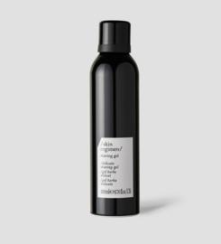 Skin regimen - shaving gel