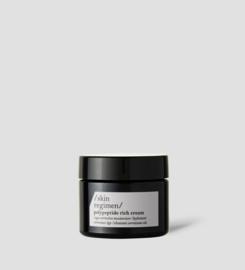 Skin regimen- polypeptide rich cream