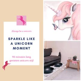 Sparkle like a unicorn moment 'kadobon'